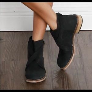 free people Las Palmas Leather Ankle Boot